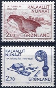 1982 Millenery of Greenland (2nd Issue)