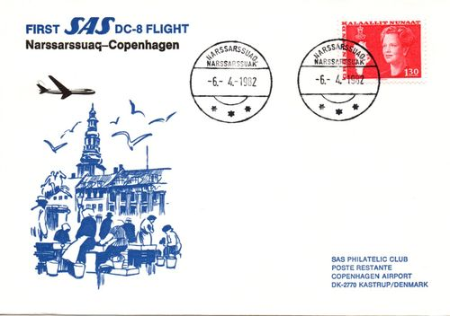 1982 First Flight Cover