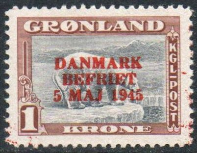 1 Kr Grey and Brown