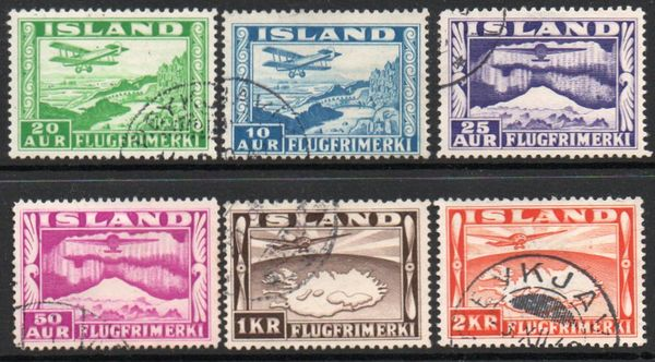 1934 Airmail Stamps (6v)