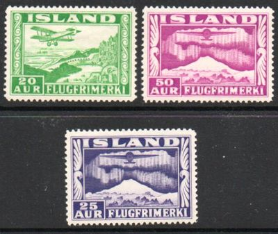 1934 Airmail Stamps (Perf 14)