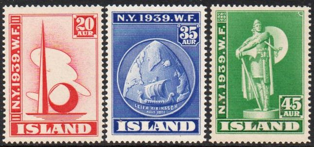1939 World's Fair New York (3v)