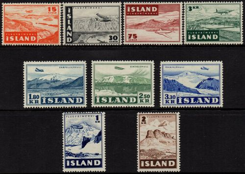 1947 - 52 Aircraft Over Iceland (M/M)