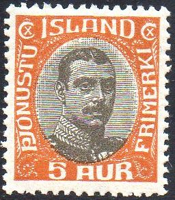1920/30 Official 5a Brown Orange