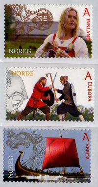 2014 Tourist Stamps - Vikings