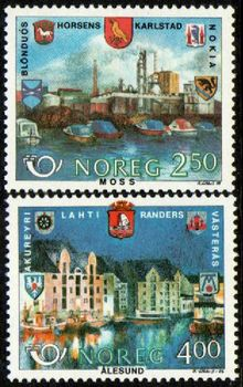 1986 Nordic - Twinned Towns