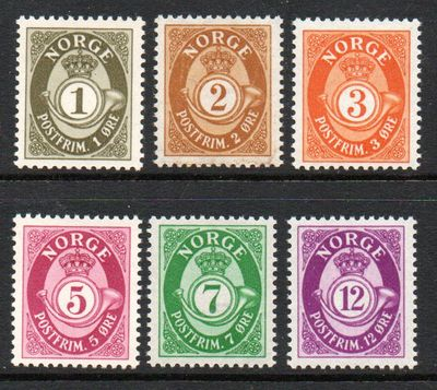 1940-49 Posthorn Stamps