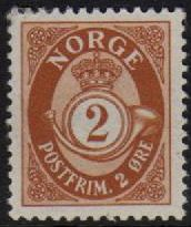 2ø Brown Posthorn