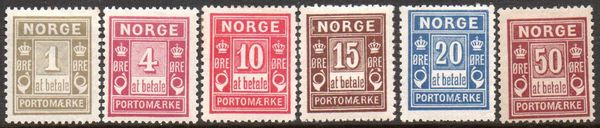 1889-1915 Postage Dues (M/M)