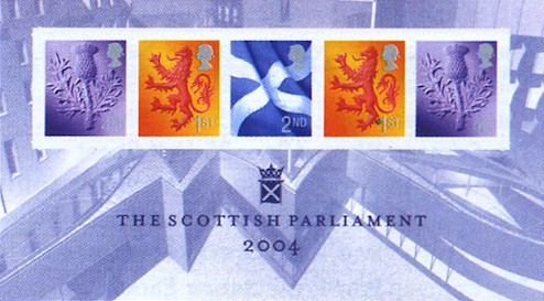 2004 Opening of Scottish Parliament M/S