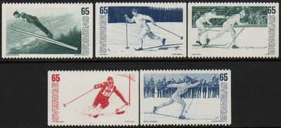 1974 Winter Sports on Skis