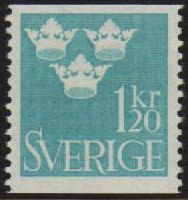 1 Kr 20 Light Blue