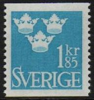 1 Kr 85 Pale Blue