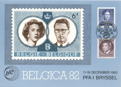 1982 Belgica Stamp Exhibition