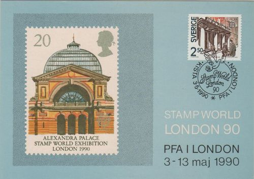 1990 London Stamp Exhibition