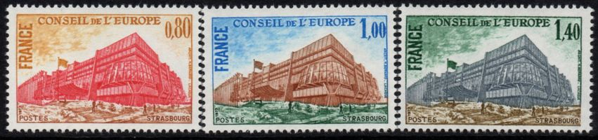 1977 Council of Europe - Building
