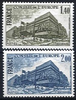 1980 Council of Europe - Building