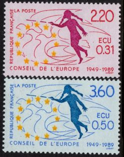 1989 Anniv. Council of Europe