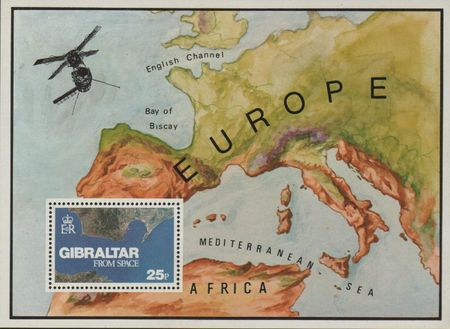 1978 Gibraltar From Space M/S