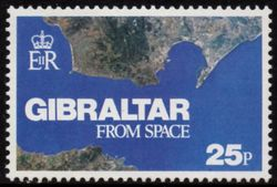 1978 Gibraltar From Space (Ex M/S)
