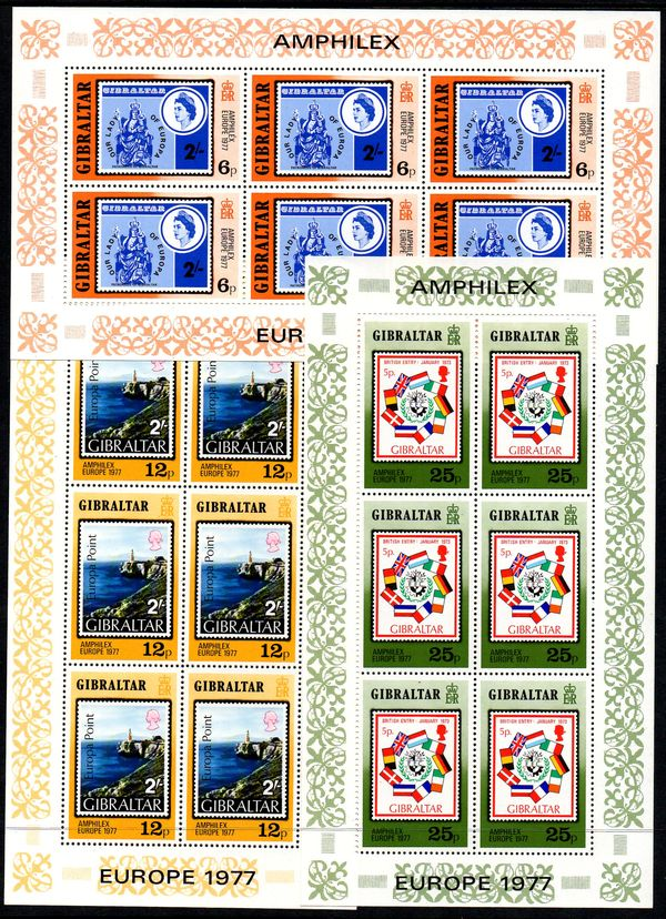 1977 Stamp Exhibition (Sheets x3)