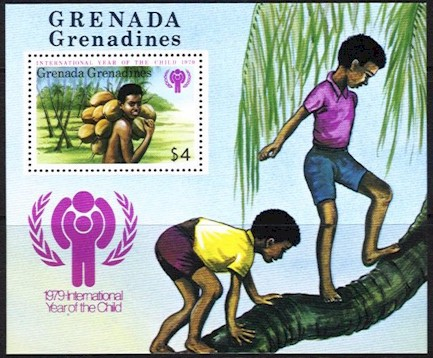 1979 Year of the Child Grenada Grenadines M/S