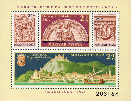 1975 Monuments in Visegrád Palace (M/S)