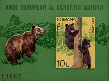 1980 Nature Conservation (Bears) M/S